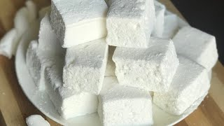Homemade Marshmallows Recipe/marshmallow Recipe Without Candy Thermometer And Liquid Glucose