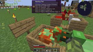 Stupid Simple Geoff - Let's Play Minecraft - Ep. 282 - Sky Factory Part 23