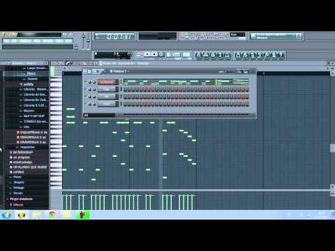 (Mini tutorial improvisado)FLStudio - Cómo hacer beats de rap sin samples
