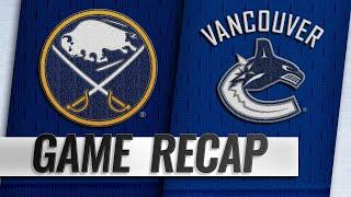 Eriksson's goal propels Canucks past Sabres, 4-3