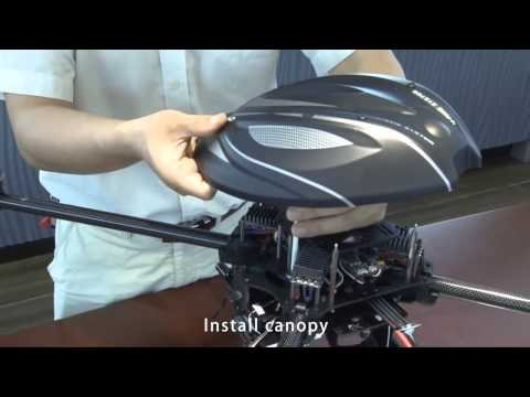 DetoxTAXI.com---Walkera QR X800 Assemble Video ...