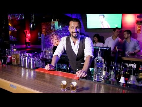 Best Bartender cocktail at Geronimo by Cristian Alex