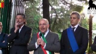 """Intitolazione e riapertura Villa Comunale """"Falcone e Borsellino"""", 25.6.2011 -servizio:1144 secondi."""