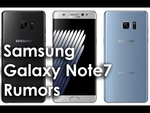 New Galaxy Note7: This Is What You Can Expect