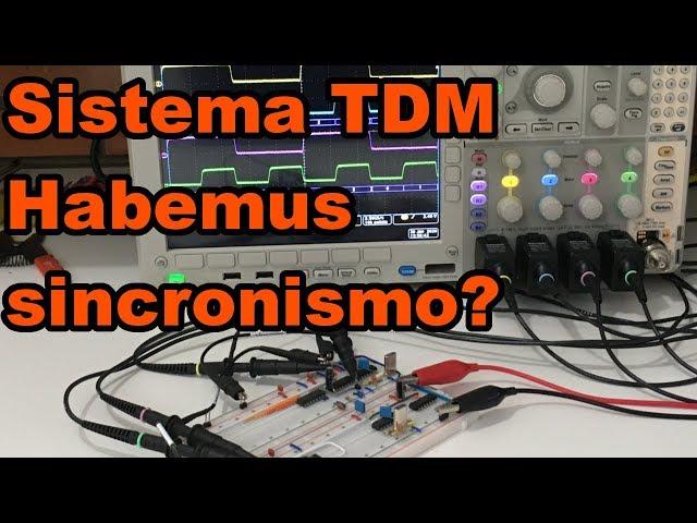 TESTAMOS O SINCRONISMO DO SISTEMA TDM | Conheça Eletrônica! #167
