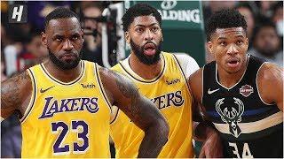 Los Angeles Lakers vs Milwaukee Bucks - Full Game Highlights | December 19, 2019 NBA Season
