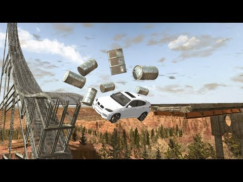 Beamng drive - Barrel Wipeout