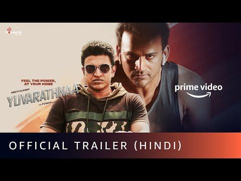 Yuvarathnaa official Trailer (Hindi)- Puneeth Rajkumar, Sayyeshaa Saigal, Prakash Raj