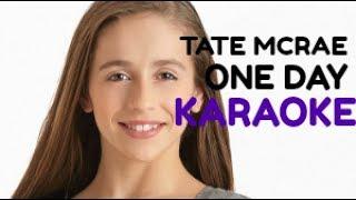 Tate McRae-One Day (Karaoke version) (Instrumental)