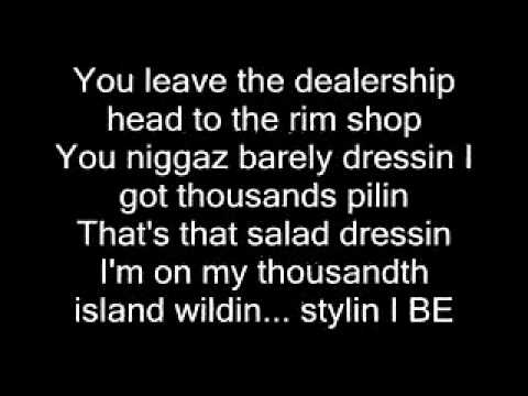 Lil Wayne - Duffle Bag Boy lyrics