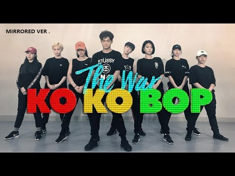 [ Mirrored ver. ] EXO엑소 - Ko Ko Bop Dance Cover.