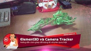 [hướng dẫn] Dùng After Effect ghép đối tượng 3D vào phim quay thật với plugin Element3D