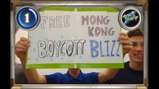 Blizzard faces backlash for banning pro-Hong Kong gamers