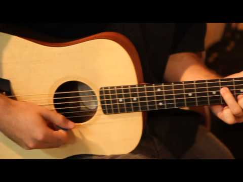 The Baby Taylor 3/4 Acoustic Guitar