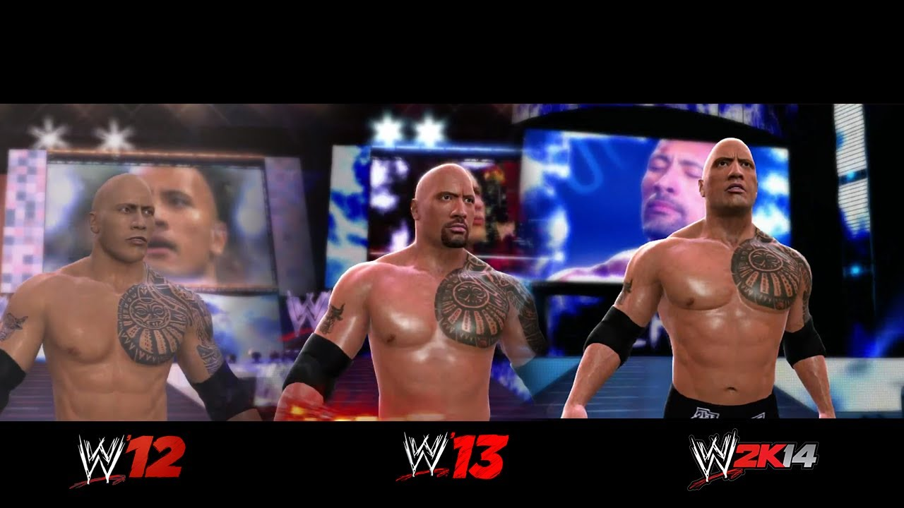 WWE 2K15 Past Present And Future Of Games