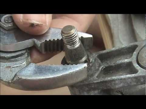 How To Repair Seized Wiper Spindles Youtube