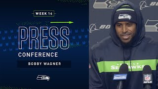 Linebacker Bobby Wagner Week 14 Press Conference | 2019 Seattle Seahawks