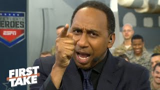 Finish the job! – Stephen A. motivates Alabama with a fiery speech | First Take