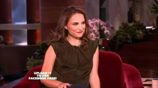 Natalie Portman on Ellen