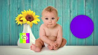 Learn Colors With Baby Balls | learning with funny Baby