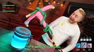 Destroying REAL Fortnite Items!!