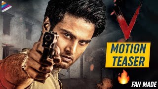 Watch: 'V', Sudheer Babu fan made Motion Teaser..