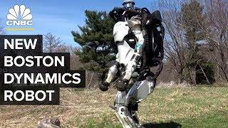Boston Dynamics' Atlas And SpotMini Have Learned A Few New Tricks   CNBC