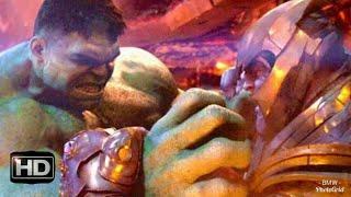 Avengers infinity war- hulk vs thanos Fight scene HD (1080p)