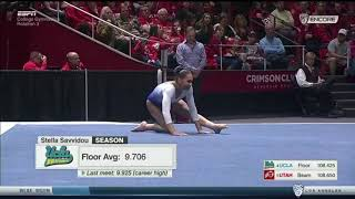 Stella Savvidou 2017 Floor vs Utah 9.050