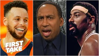 Stephen A.: Steph Curry will have a bigger impact than Wilt Chamberlain on the NBA | First Take