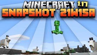 Des chèvres explosives - Minecraft 1.17 Snapshot 21w15