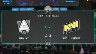 The International 3 - Grand Final game 5 - Alliance vs Na'Vi - English Commentary DotA 2