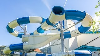 Hotel Lacknerhof Flachau - Illusion Water Slide | FAKE SLIDE! NEW 2016