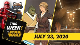 Star Wars: The High Republic Exclusive Look, Comic-Con@Home Star Wars Panels, and More!