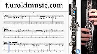 หัดเล่นโอโบ BTS (방탄소년단) -  'DNA' ตัวโน๊ต สอนเล่นโอโบ um-hli796