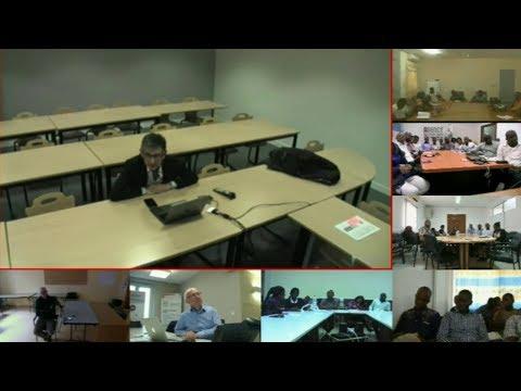 Visioconférence de l'EFP du 29 mars 2018. Antoine Magnan