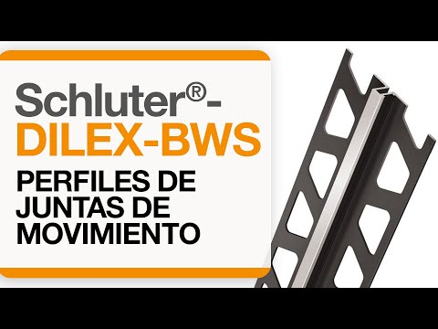 Cómo instalar una junta de movimiento en baldosas: Schluter®-DILEX-BWS