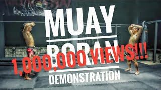 Muay boran Demonstration
