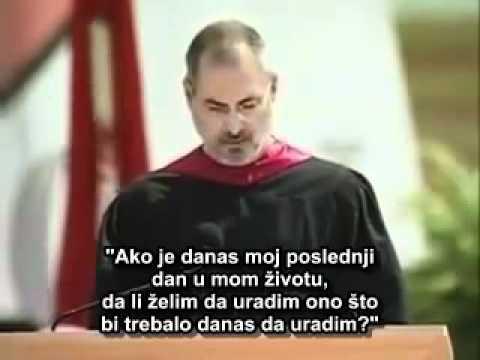Steve Jobs - govor na Stenfordu (srpski titlovi)