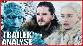 GAME OF THRONES STAFFEL 8 TRAILER ANALYSE