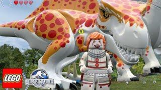 DINOSSAURO DO PENNYWISE IT A COISA no LEGO Jurassic World Criando Dinossauros #68