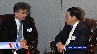 Truyền hình VOA 23/10/18: Slovakia tạm ngừng quan hệ với Việt Nam