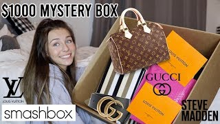 LUXURY $1000 mystery box...+ GIVEAWAY (closed)