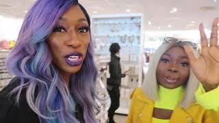 WE SHOPPED AT H&M!   VLOG w: Shalom Black, Kellie Sweet, Jena Frumes