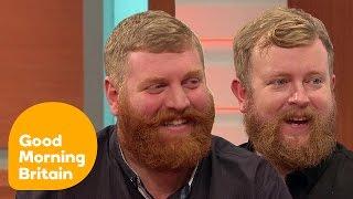 Ginger Bearded Doppelgangers Go Viral Online | Good Morning Britain