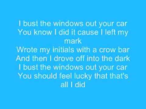 Jazmine Sullivan - I'll Bust Your Windows Out Your Car (Lyrics)
