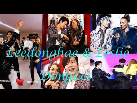 Leedonghae & Leslie Grace Moments DongLes