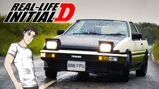 Driving An Initial D Inspired AE86 Was Too Much Fun!