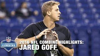 Jared Goff (California, QB) | 2016 NFL Combine Highlights