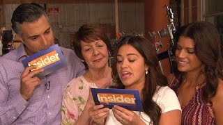 Watch Gina Rodriguez and Her 'Jane the Virgin' Dad Jaime Camil Interview Each Other